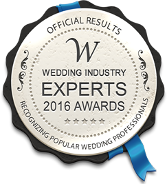 Wedding Experts Award Winner 2016