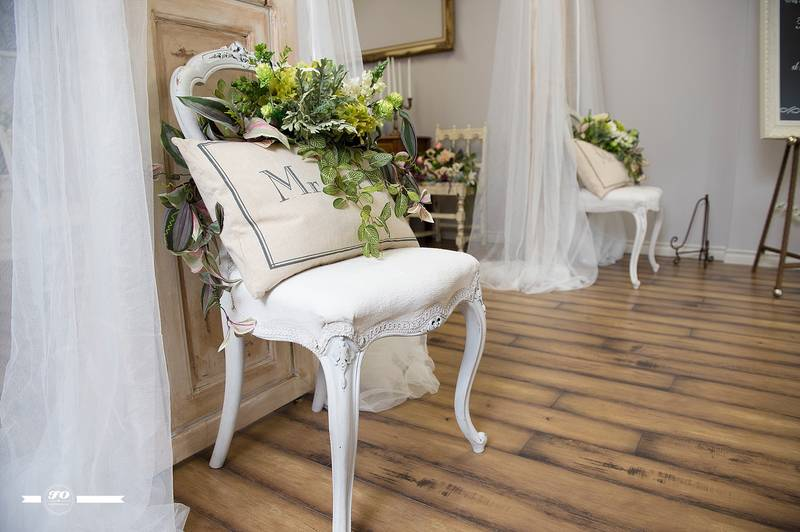 Vintage Chair For Sweetheart Table