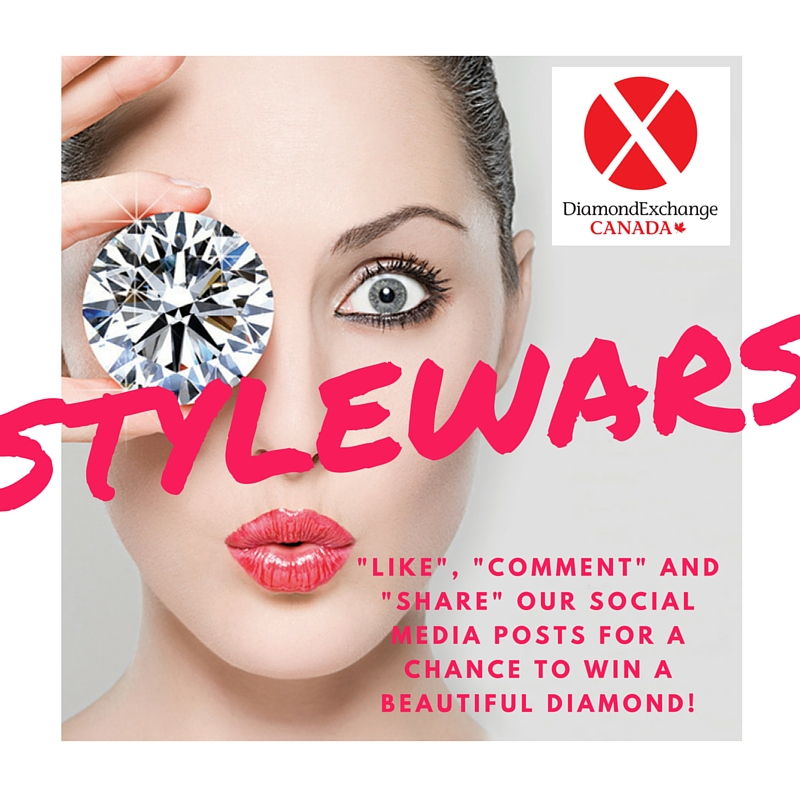 Would you like a chance to WIN a DIAMOND? Like Us on FaceBook (www.FaceBook.com/DiamondExchange) and Follow Us on Twitter (www.twitter.com/DiamondXCanada).