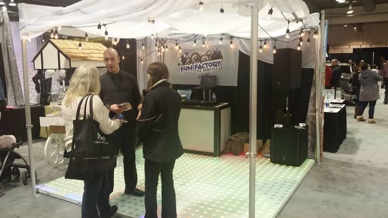 Wedding Fair Trade Show Setup