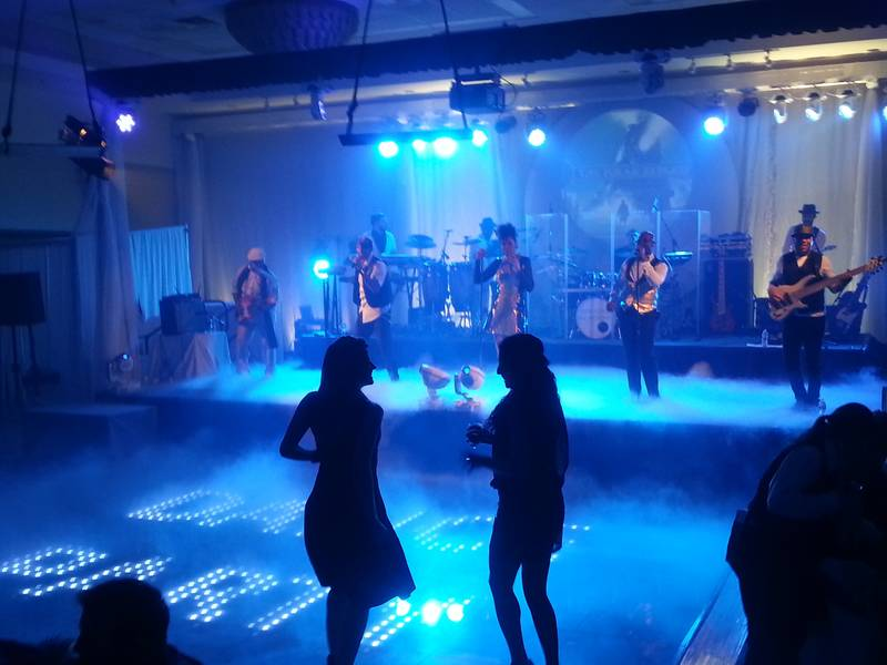 Dance floor at the Delta Lodge in Kananaskis