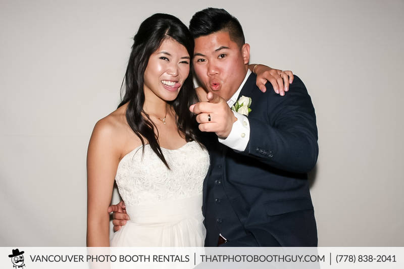 chris and pam wedding photobooth picture