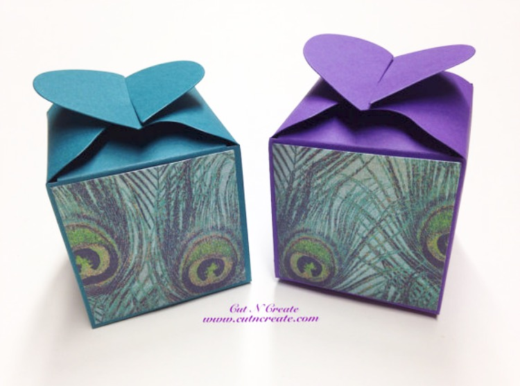Peacock Wedding Favours