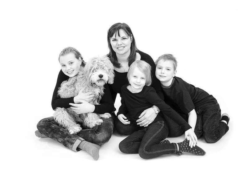 family portraits in studio