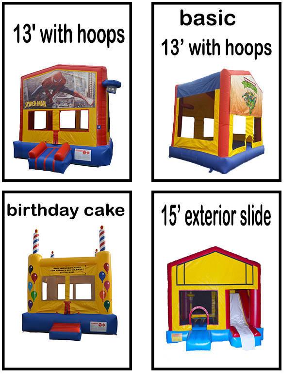 Bouncy castles rental