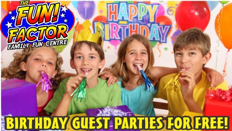 Kamloops Kids Birthday Party Headquarters!