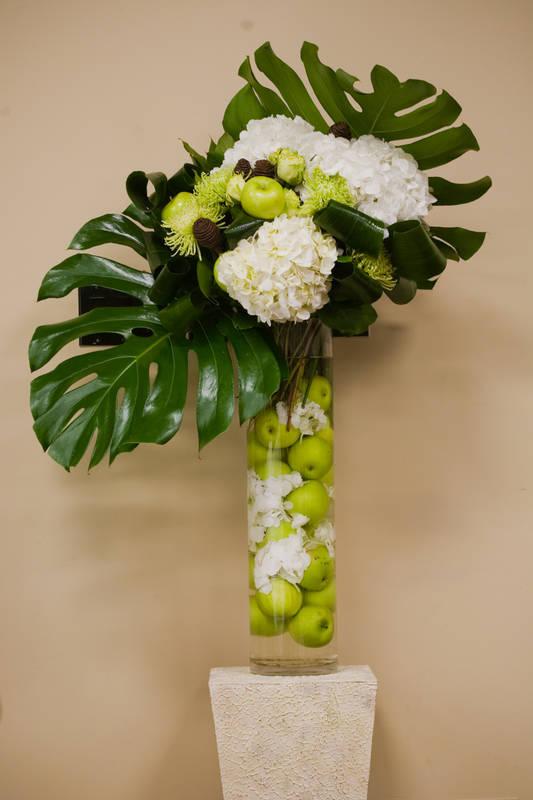 Corporate artistic flowers