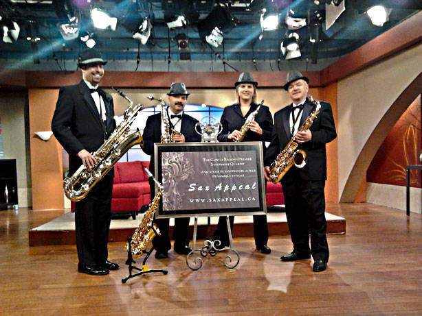Jazz saxophone music is better with Sax Appeal!