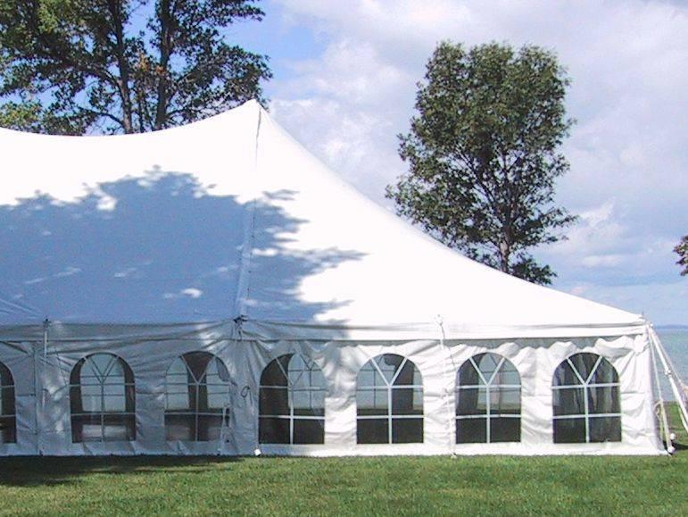Elegant  high peak tents by Todd Dalland